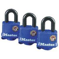 Master Lock 312TRI Weather Resistant Laminated Padlock