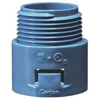 Carlon A243E-CAR 1-Piece Snap-In Conduit Adapter