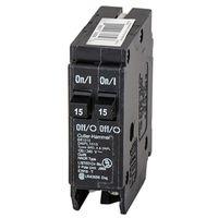 Eaton BR1515 Type BR Duplex Miniature Circuit Breaker