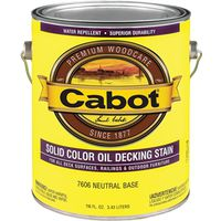 Cabot 7600 Oil Based Solid Color Decking Stain