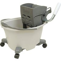 Quickie EZ-Glide Mop Bucket With Wringer