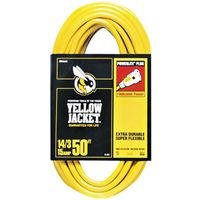 Yellow Jacket 2887 SJTW Extension Cord With Powerlite Indicator Plug