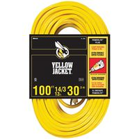 Yellow Jacket 2888 SJTW Extension Cord With Powerlite Indicator Plug