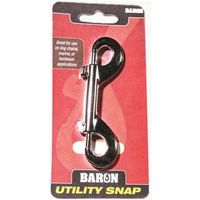 Baron C-161 Round Eye Swivel Rigid Bolt Snap