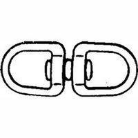 Baron C-018-5/8 Round Eye Double End Swivel