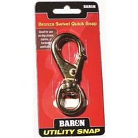Baron C-251B-2 Round Eye Swivel Quick Snap