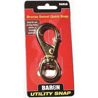 Baron C-251B-1 Round Eye Swivel Quick Snap