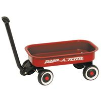 Radio Flyer W5 Little Toy Wagon 12-1/2 in L x 7-1/2 in W x 2 in D
