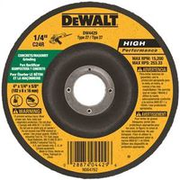 Dewalt DW4429 Type 27 Depressed Center Grinding Wheel