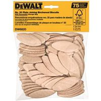 Dewalt DW6820 Plate Joiner Biscuits