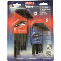 Eklind 10022 Long Arm L Handle Hex Key Set
