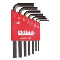 Eklind 10107 L Handle Short Arm Hex Key Set