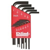 Eklind 10111 L Handle Short Arm Hex Key Set