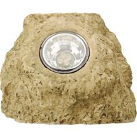 Moonrays 91211 Accent Rock Outdoor Solar Light