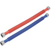WaterFlex 0437124 Corrugated Flexible Water Heater Connector