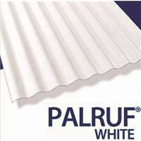 Parlor 101339 Translucent Corrugated Roofing Panel
