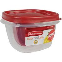 Eazy Find Lids 1777085 Square Food Storage Container