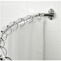 Zenith Products 35603SS06 Shower Curtain Rods