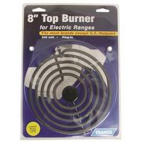 TOP BURNER ELECT RANGE DLX 8IN