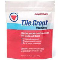 Savogran 12841 Tile Grout?