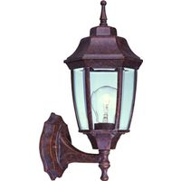 Boston Harbor BRT-BPP1611-RB3L Lantern Outdoor Porch Light Fixture