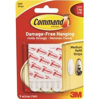 Command 17021 Medium Refill Strip