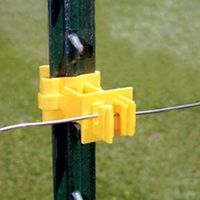 Zareba IT2XY-Z Snap-On Extension T-Post Insulator