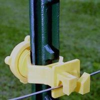 Zareba ITSOY-Z Screw-On T-Post Insulator
