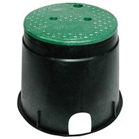 NDS 111BC Standard Round Valve Box With Overlapping ICV Cover