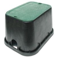NDS Standard Rectangular Valve Box With Overlapping ICV Cover
