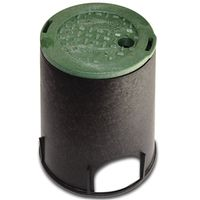 NDS 107 Standard Round Valve Box With Overlapping ICV Cover