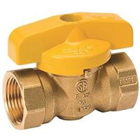 Mueller ProLine 1-Piece Quarter Turn Gas Ball Valve