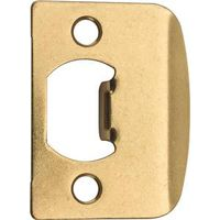 Kwikset 3437 3CP Rectangular Latch Strike Plate