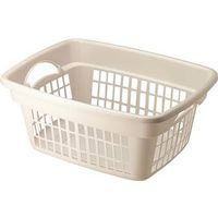 Rubbermaid FG287400WHT Laundry Basket