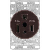 Arrow Hart 1254-BOX  Grounded Power Receptacle