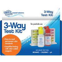 BioLab AquaChem 3-Way Pool Test Kit Refill
