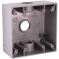 Raco 5341-0 Square Weatherproof Outlet Box