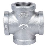 World Wide Sourcing PPG180-25 Galvanized Malleable Cross