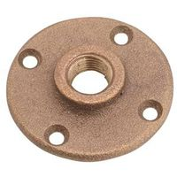 Anderson Metal 38151-12 Brass Pipe Floor Flange