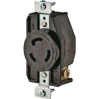Cooper CWL1020R Ground Lock Single Receptacle