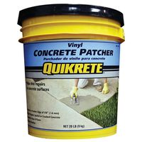Quikrete 1133-20 Ready-To-Use Vinyl Concrete Patcher
