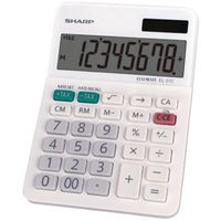 Sharp EL310TB Mini Desktop Calculator