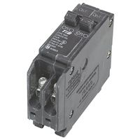 MES Q1515 Twin Miniature Circuit Breaker