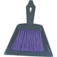 BROOM/PAN MINI POLY 9-3/4IN
