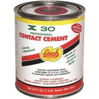 Leech X30-78-6 X30 Contact Cement