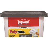 Lepage 1256104 Poly Filla Hole/Crack Filler