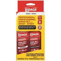 Lepage 1443835 Speed Set Epoxy