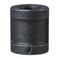 World Wide Sourcing B220 8 Black Pipe Malleable Coupling