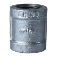 World Wide Sourcing 3/8GM Galvanized Malleable Coupling
