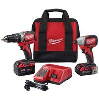 Milwaukee 2791-22CT Cordless 2-Tool Kit